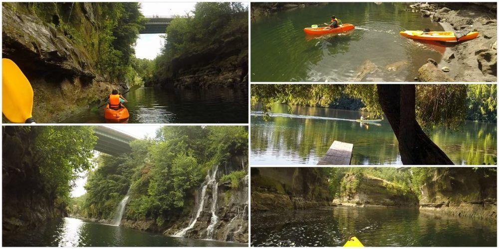 Kayak Salto del Laja