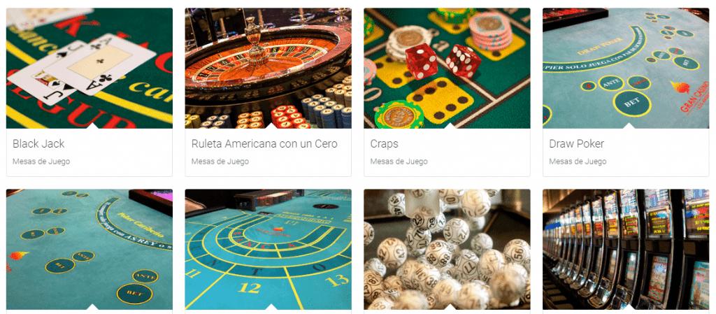 Para su comodidad, Gran Casino Los Ángeles, cuenta con diferentes ambientes proporcionándole variadas opciones para su diversión: