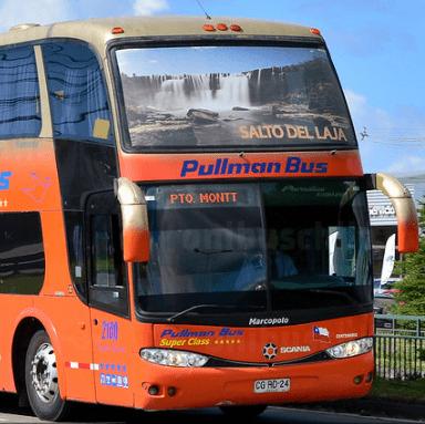 Buses pullman bus desde el norte al salto del laja