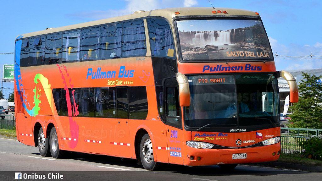 Buses pullman bus desde desde concepcion al salto del laja