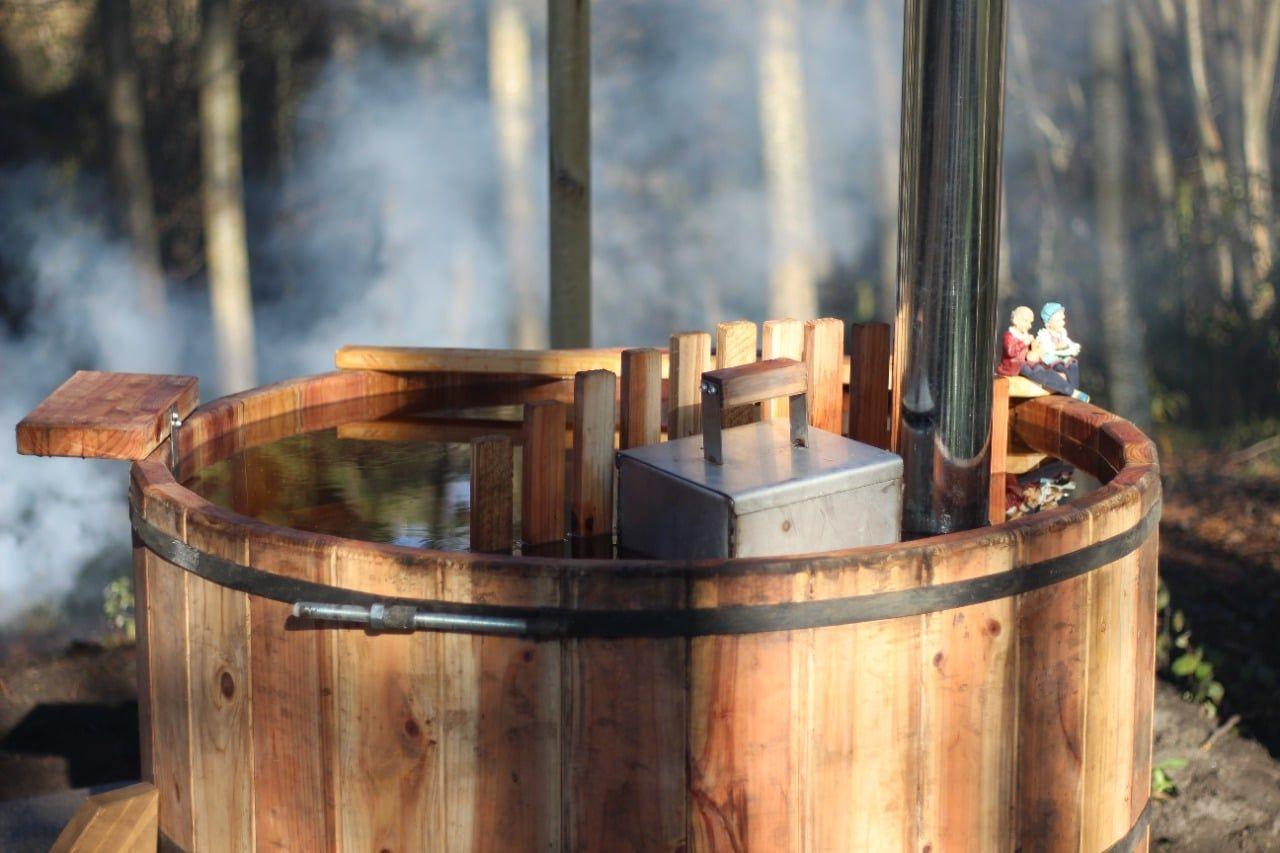 Cabañas con tinaja en salto del laja
